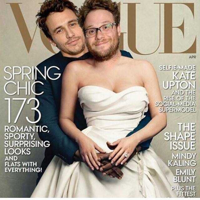 James Franco and Seth Rogen Spoof