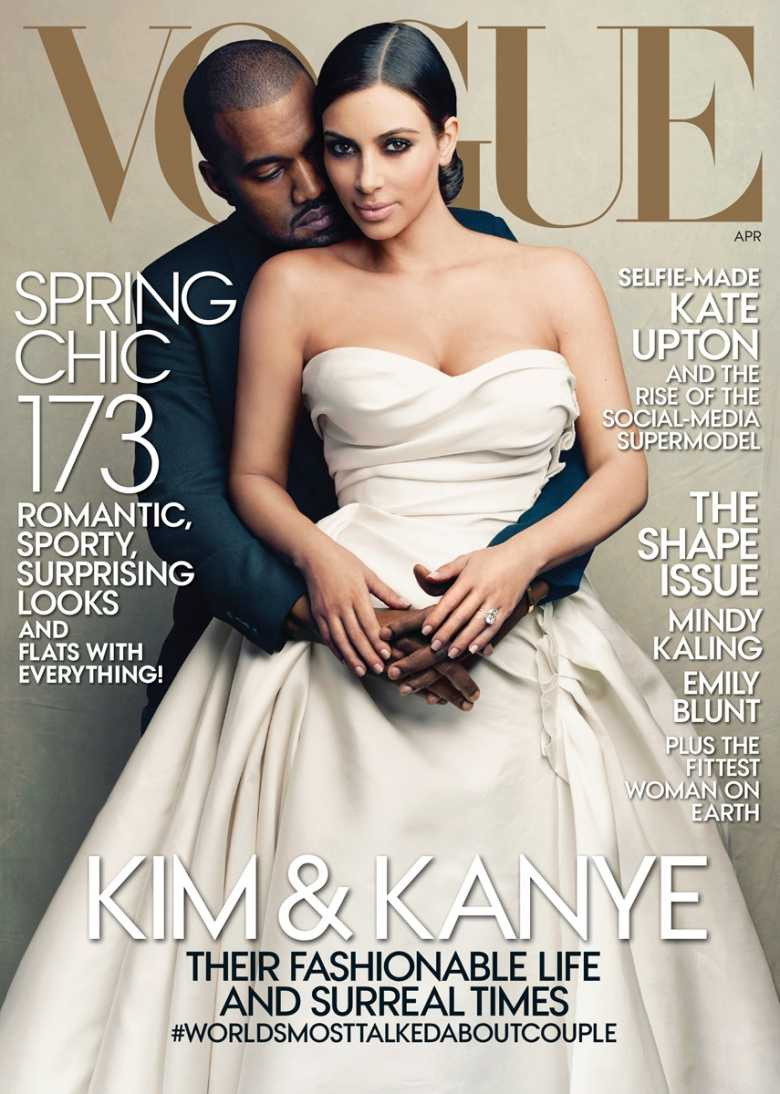 Vogue's April 2014 Issue